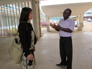Interview at the School of Hygene with Henry Adapeh