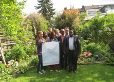 von links nach rechts: Manuela Bauer (München), Effia Sappon (Tepa) , Peter Wolf (Cambridge), Sandra Opoku (Accra), Joanna Münker (Berlin), Mr. Alexander (MOH), Thomas Erkert, Mr. Beyere (MOH). Nicht auf dem Bild Franziska Marthey.