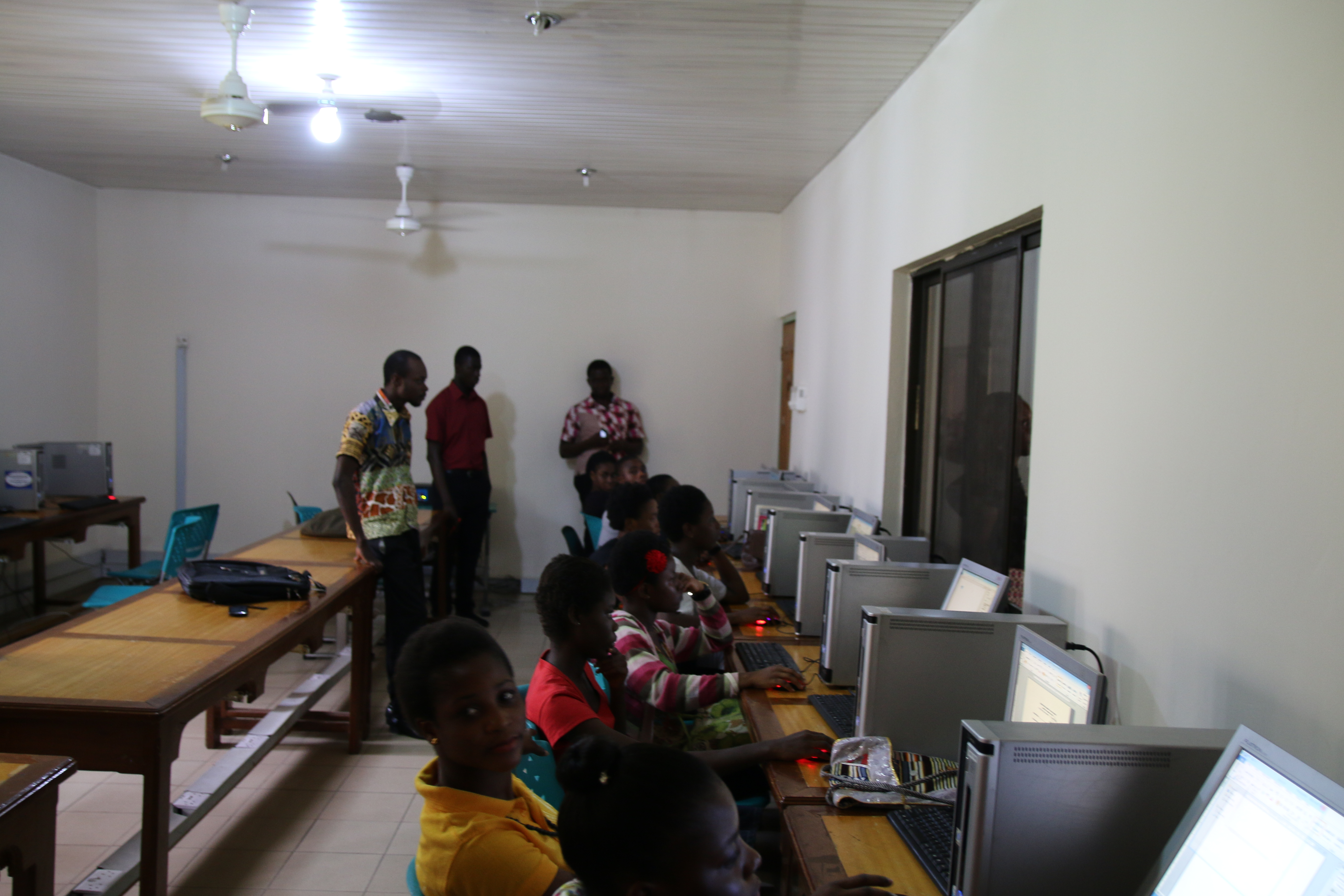The Ghana Korea Germany Church Mission Computer Training School GKGCM In Akosombo Volta Region It Is A Trilateral Project Of Presbyterian