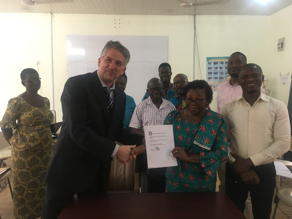 Unterzeichnung des Memorandum of Understanding (MoU) mit SONAM 2017