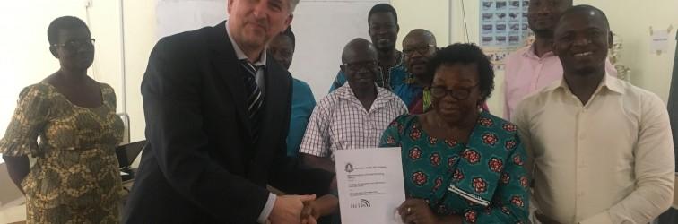 Afrikas erstes Campus W-LAN