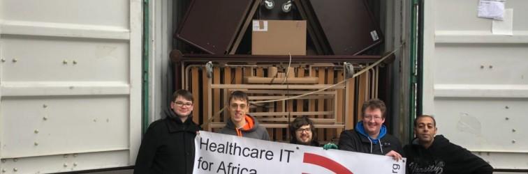 Donation shipment to Ghana!
