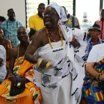 (26)Chief und Queen Mother von Adaklu beschließen die Zeremonie 1