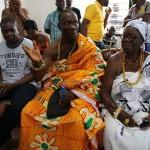 (27)Chief und Queen Mother von Adaklu beschließen die Zeremonie 2