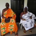 (29)Thomas bedankt sich bei Chief und Queen Mother für die erwiesene Ehre 2