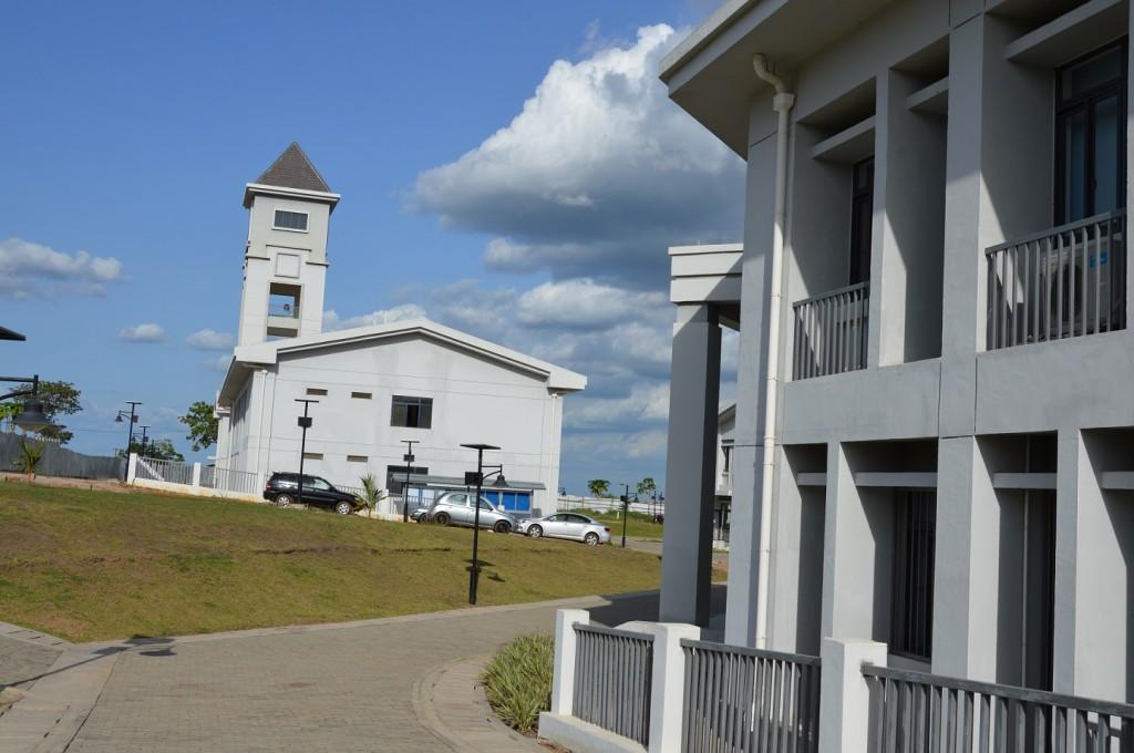 Der neue Hauptsitz der Universität 2