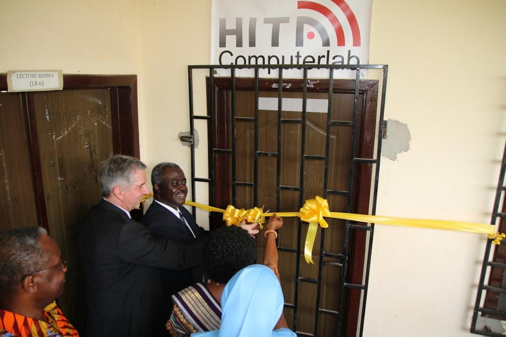 Eröffnung des Computerlabs 2