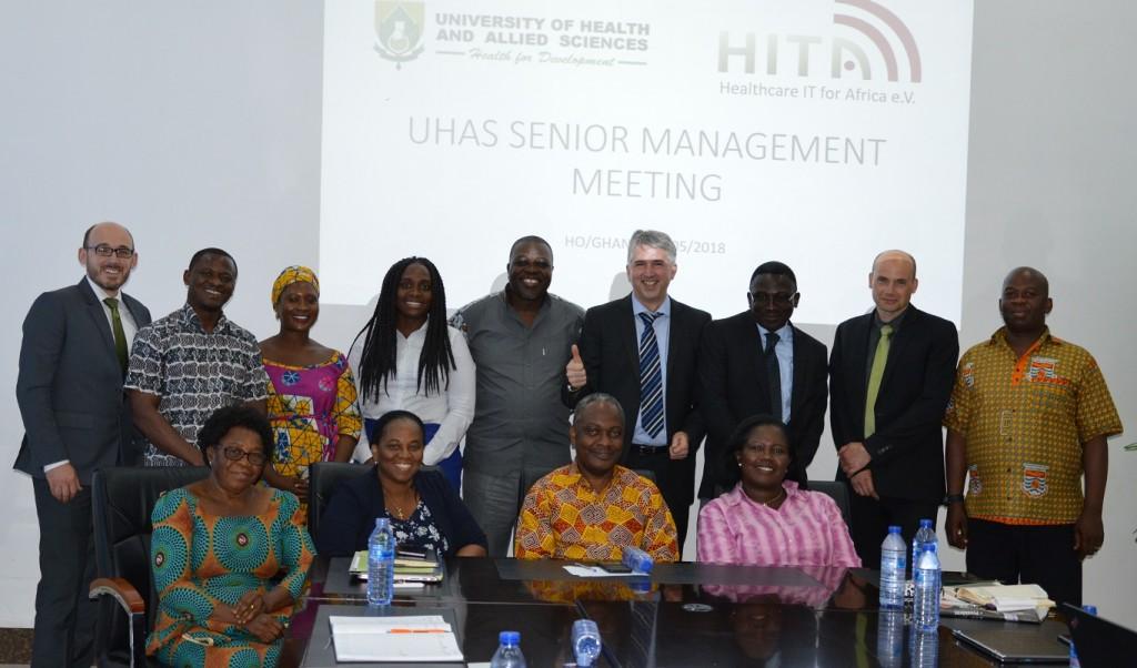 Meeting auf Management-Ebene mit der Universität 1