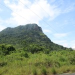 Der imposante Mount Anaklu 3