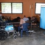 Die Notaufnahme im Health Centre  Kpetoe