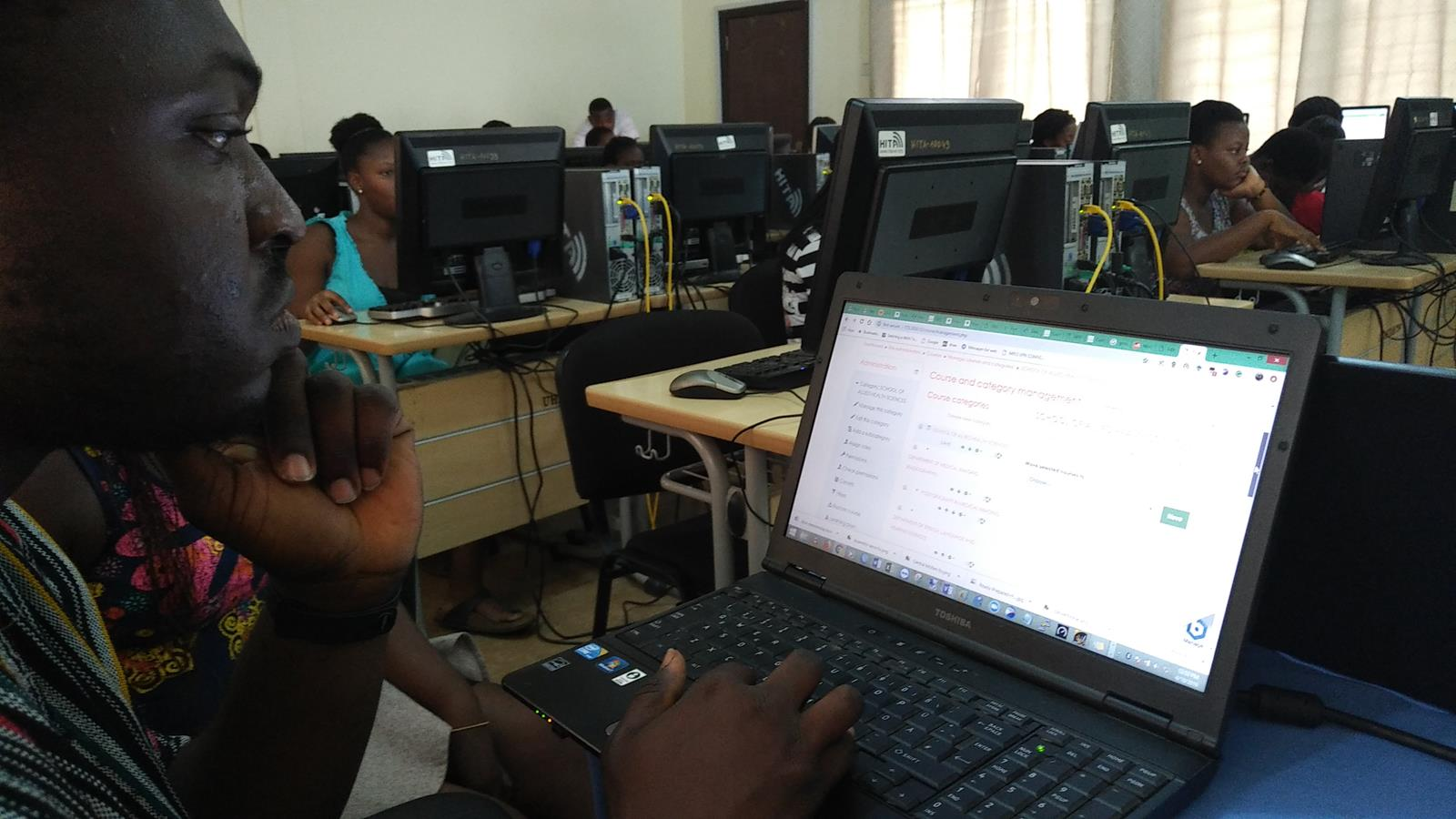 Online Test at HITA Computer Lab (Copy)